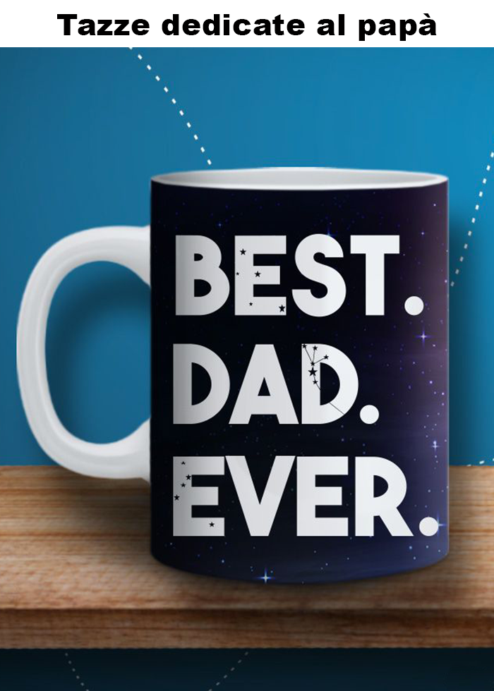 "Tazza ""best dad ever"""
