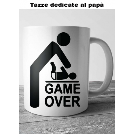 "Tazza ""game over"""