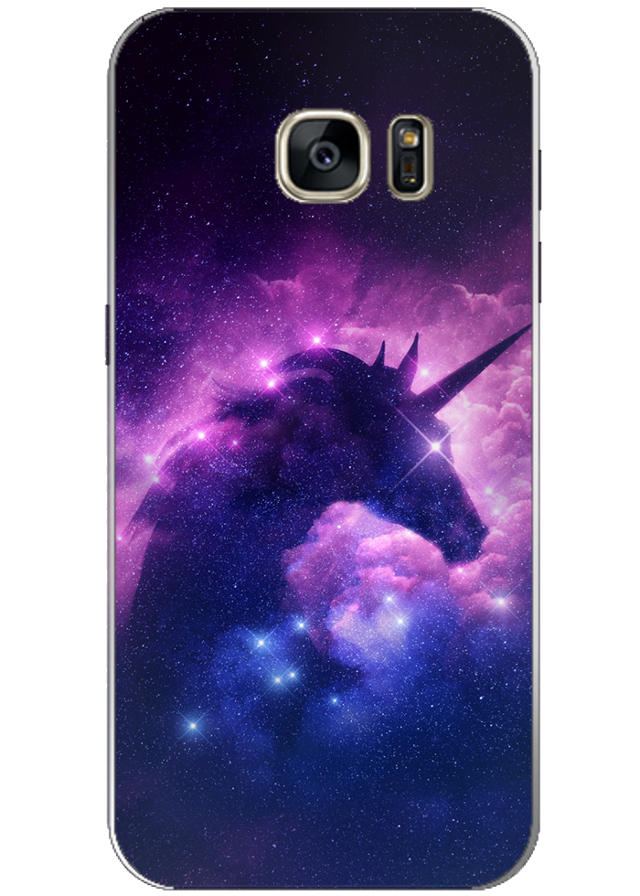 "Cover Samsung ""unicorno"""